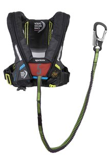 Spinlock vor lifejacket front safety line full lr